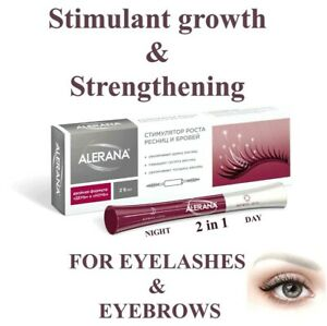 ALERANA Stimulant Growth & Strengthening Eyelashes & Eyebrows Night&Day Formula