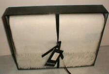 """New Luxury Cashmere Throw 50""""x60"""" Luxurious Cashmere/Wool Throw Blanket in Box"""