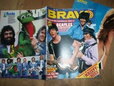 BRAVO 17/81 BEATLES SUPER-POSTER KISS STATUS DUO LA STRAY C DESIREE IRON MAIDEN