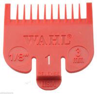 """Wahl Colour Clipper Comb Attachment #1 1/8"""" (Sterling 4, Super Taper) WA3114"""