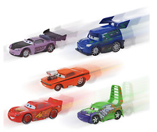 Disney Cars Lightning McQueen and Road Delinquents Die-Cast Set **NEW* Wingo, DJ