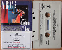 ABC – The Lexicon Of Love (Mercury MCR-4-1-4059) US 1982 CASSETTE TAPE SYNTH