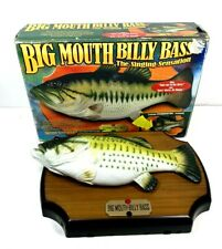 Big Mouth Billy Bass The Singing Sensation With Box Vintage Tested 1998
