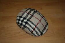 NEW!!!! Burberry London Nova Check Wool Flat Cap