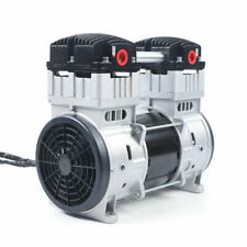 New Oilless Diaphragm Vacuum Pump 7cfm Oil Free Mute Vacuum Pump 110v Us Plug