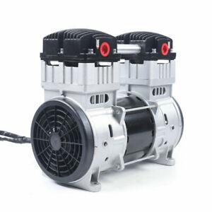 NEW Oilless Diaphragm Vacuum Pump 7CFM Oil Free Mute Vacuum Pump (110V US Plug)