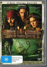 PIRATES OF THE CARIBBEAN - DEAD MAN'S CHEST DVD R4 - 2 DISC SET LIKE NEW