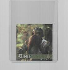2003 TOPPS LORD OF THE RINGS THE RETURN OF THE KING MINI GIMLF #08