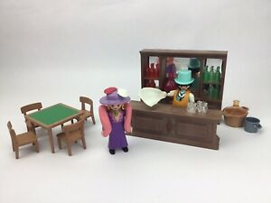 Playmobil 3787 Western Golden Nugget Saloon Molly Brown Figures Accessories Rare