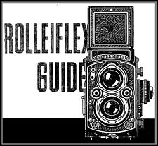 Rolleiflex 2.8F PROFESSIONAL Repair Manual $11  Special