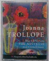 JOANNA TROLLOPE.MARRYING THE MISTRESS.PATRICIA HODGE.2  CASSETTE 1991,3 HRS.MINT