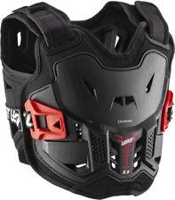 Leatt 2.5 Chest Protector (Black/White, Kids) Black/Red Mini 110-134cm