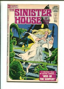 """SINISTER HOUSE OF SECRET LOVE #4 - 52 PAGES """"Fisherman Collection"""" (6.5) 1972"""