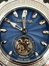 Invicta Reserve Subaqua Specialty Ltd Ed Diamond Tourbillon Watch Ice Blue