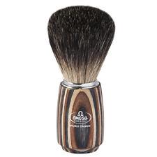 Valuable Shaving Brush - Omega Made IN Italy - Badger Hair Multicolor Wooden