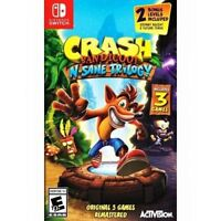 Crash Bandicoot: N. Sane Trilogy (Nintendo Switch) Brand New Factory Sealed