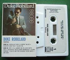 Duke Robillard Swing inc Shufflin' With Some Barbeque + Cassette Tape - TESTED