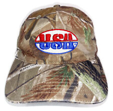USA Atlanta Cap Co Realtree Brown Camo Cotton Adjustable Baseball Hat America