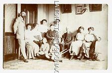 Clusone Bergamo valle seriana vera foto formato cartolina 1914