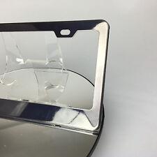 Powder Coated Black Chrome Stainless Steel License Plate Frame Holder Bracket
