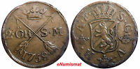 SWEDEN COPPER Adolf Frederick 1758 2 Ore,S.M Low Mintage: 91,000 SCARCE KM#461
