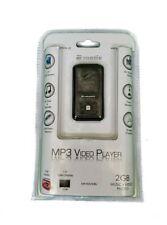 "E-Matic MP3 Video Player FM Tuner Recorder with 1.5"" Screen, Black"