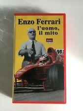 ENZO FERRARI - l'uomo, il mito - VHS OOP