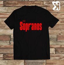 The Sopranos Logo Novelty T-shirt (Small,Medium,Large,XL)