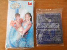 Bestway Kinder Schwimmflügel für 3-6 Jahre orange und Nivea Badeball blau
