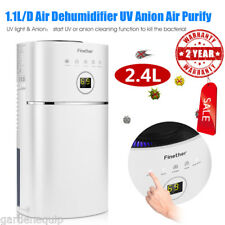2.4L Air Dehumidifier Dryer Damp Mould Moisture for Home Kitchen Bedroom Office