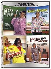 Tyler Perry 4-Play Collection DVD David Mann Class reunion Family Meet the Brown