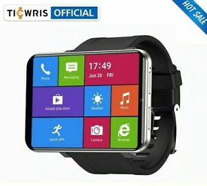 Ticwris Max 4G Android Smart Watch 2.86 Big Display Face ID 8MP Camera GPS SALE!