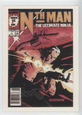 1991 Marvel 1st Covers Series 2 #66 Nth Man The Ultimate Ninja Card 0p3