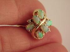 Ring Gift Box Size 5.25 Natural Opal 14K Yellow Gold