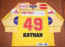 DEG Metro Stars, Bundesliga Hockey Jersey, Size 54 #49 Klaus Kathan Player Issue