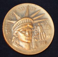 1886 Lady Liberty ~ Longines-Wittnauer Bronze Commemorative Medal