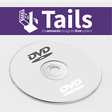 TAILS OS 64 Bt Live DVD Securely Browse the Internet with Tor Access the Darknet