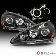 For 05-06 RSX DC5 Black Halo LED Projector Headlights