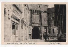 PHOTO ANCIENNE - Mont Saint Michel Restaurant La Mère Poulard 1947 Vintage