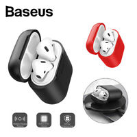 Baseus Wireless Charging Case Earphone Shell Silicone Cover for Apple AirPods