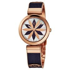 Charriol Women's Forever MOP Dial Rose Goldtone/Prune Quartz Watch FE32A020A2