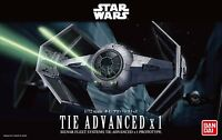 Bandai Star Wars Tie Advanced x1 Fighter Prototype 1/72 scale kit Japan