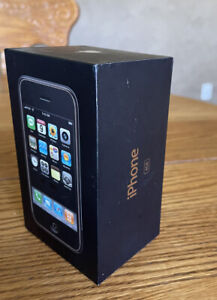 """""""Rarest One of All"""" Apple iPhone 1st Generation 2G-4GB, AT&T """"Matching Box"""""""