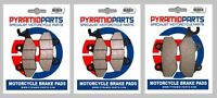 Front & Rear Brake Pads for Triumph Sprint (Carb models) 1993