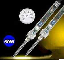 60W 220V Pro Electric Temperature Adjustable Welding Solder Soldering Iron Tool#