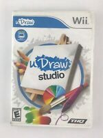 uDraw Studio - Nintendo Wii Game - Complete & Tested