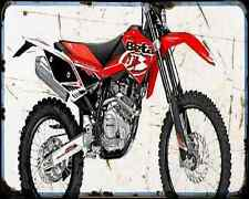 Beta Rr125 Motard 07 01 A4 Metal Sign Motorbike Vintage Aged
