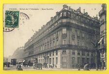 cpa Old Postcard RARE FRANCE 75 - PARIS Rue Scribe GRAND HÔTEL de l'ATHÉNÉE