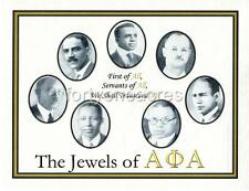 """FOUNDERS Series - Alpha Phi Alpha Print - """"First of All..."""" (Version 2)"""