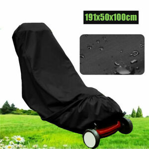 Outdoor Lawnmower Cover Waterproof Heavy Duty Lawn Mower Garden UV Protection UK